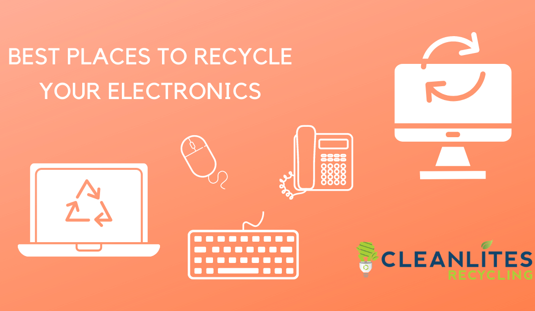 Best Places to Recycle Your Electronics