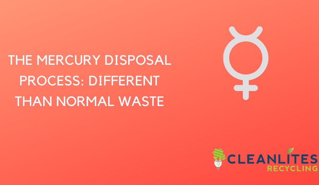 mercury recycling process 2021